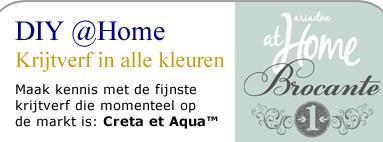Creta et Aqua in Ariadne at Home Brocante Editie